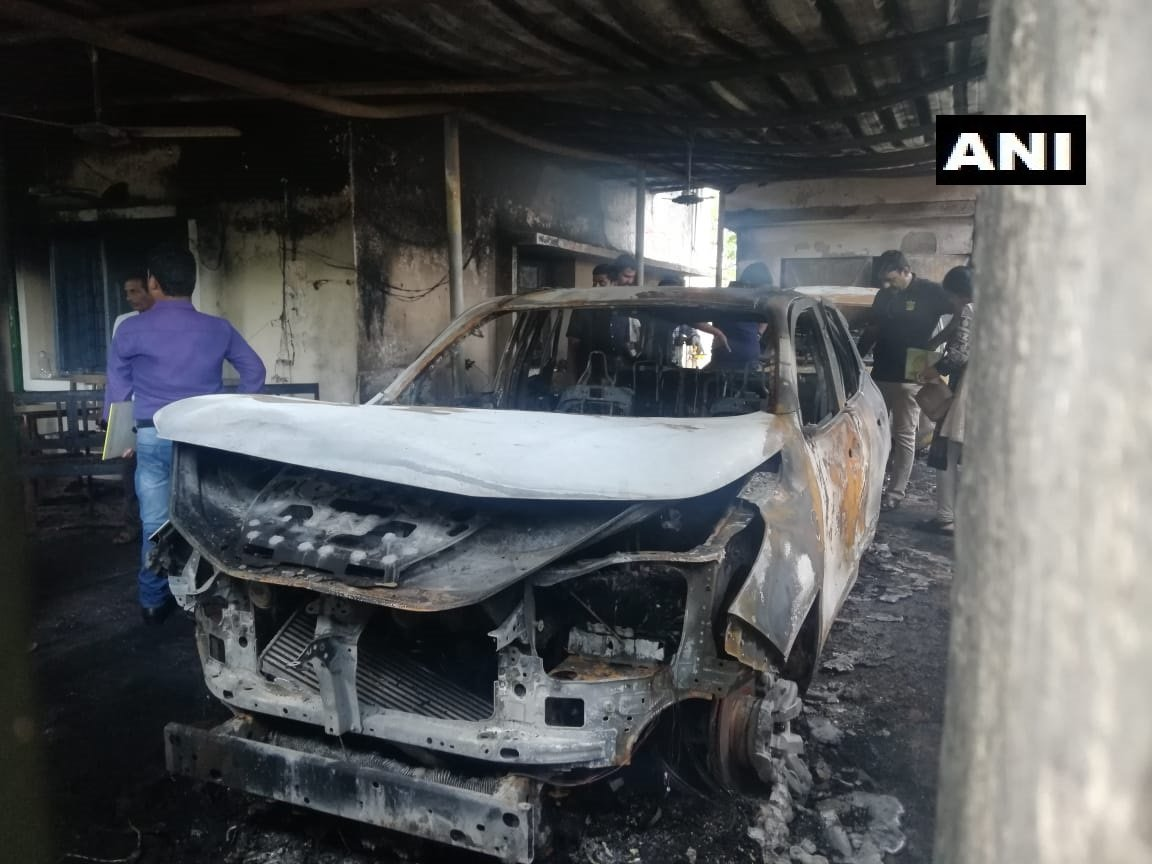 Odisha BJD MLAs house set ablaze by miscreants