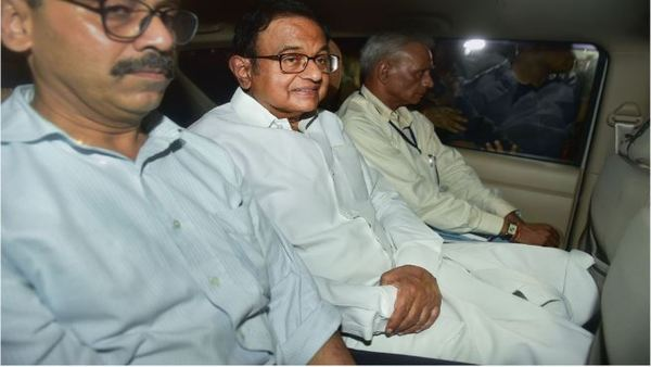 <strong>Former union minister P Chidambaram arrested amid high drama</strong>