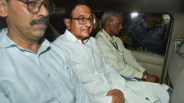 <strong> Locked up in lock up number 5, how Chidambaram spent the night in custody</strong>
