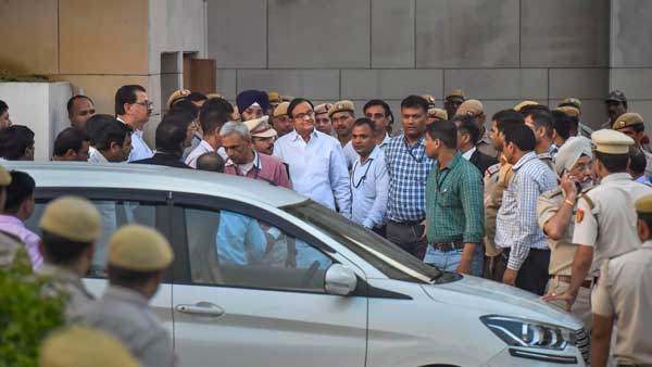 First a cup of tea and then questioned late into the night: Chidambaram's second day in CBI custody