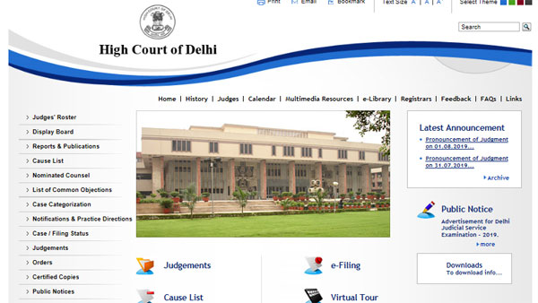 Delhi Judicial Service exam 2019 notification, apply from tomorrow, earn Rs 1.77 lakh