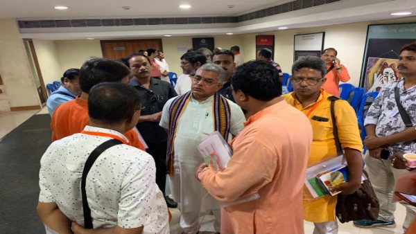 Bengal BJP chief Dilip Ghosh allegedly attacked by mob on Friday