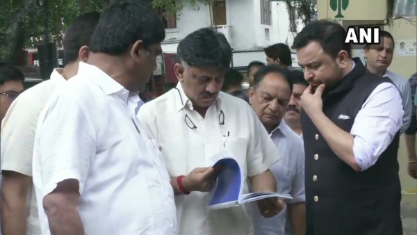 [D K Shivakumar quizzed by ED for 4th day]