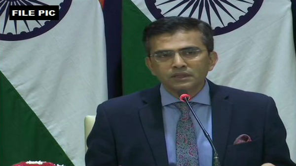 It is an internal matter of India: MEA on Chinas opposition on Ladakh