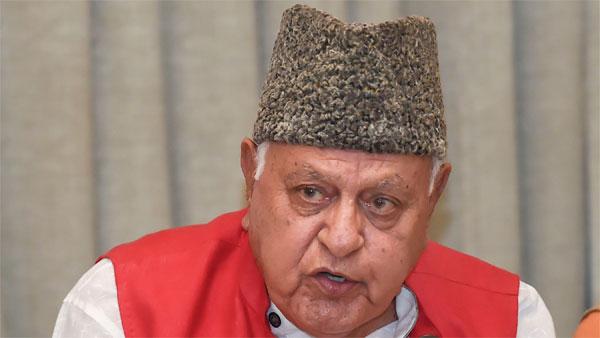 I am free beams Farooq Abdullah