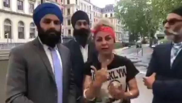 Hard Kaur shares video in support of Khalistan movement, abuses Modi, Shah