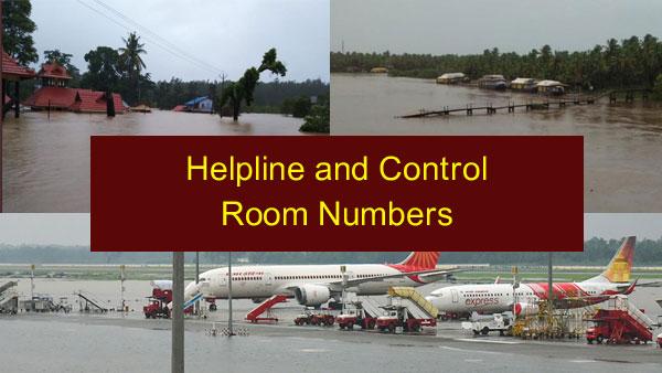 Kerala-Karnataka Floods: List of helpline and control room numbers