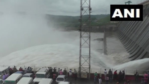 Authorities release water from Hirakud Dam in Sambalpur