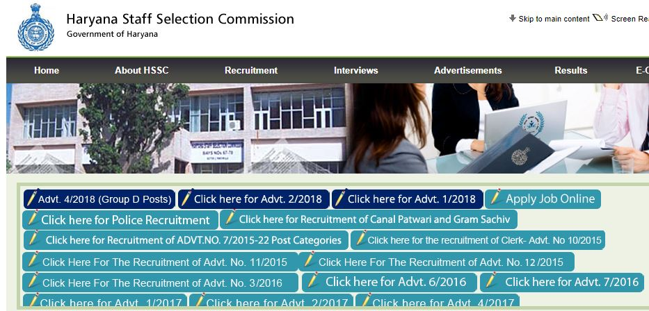 755 Haryana govt jobs announced, HSSC recruitment 2019 notification out, direct link to apply