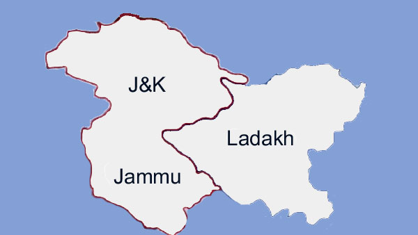 New map of Jammu and Kashmir: Is this what it will look like?