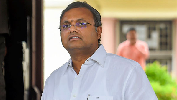 Karti says his father arrested to
