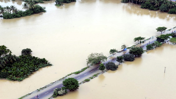 Around 200 dead due to floods in Gujarat, Kerala, Karnataka and Maharashtra