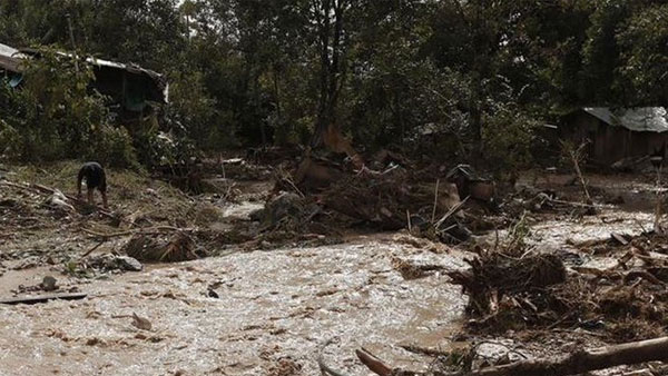 Landslide in southeast Myanmar claims at least 10 lives