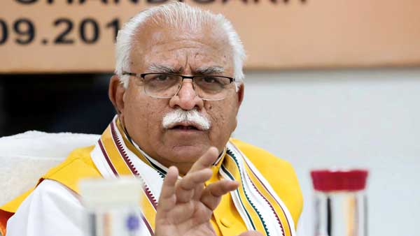 Manohar Lal Khattar to launch BJP's poll campaign Jan Ashirwad Yatra from Kalka today