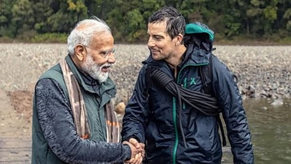PM Modi with Bear Grylls