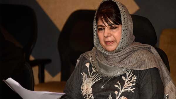File photo of Mehbooba Mufti