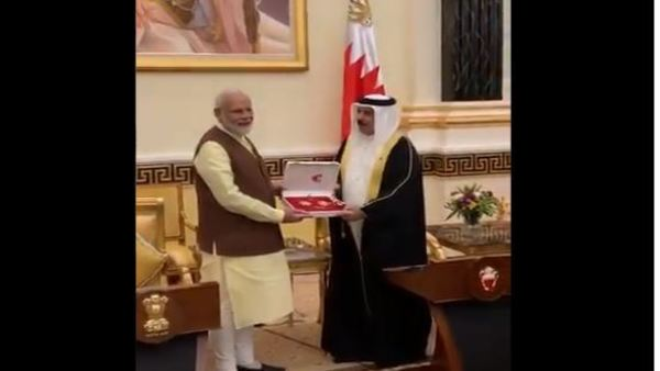 PM conferred with The King Hamad Order of the Renaissance