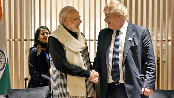 Modi dials UK PM, expresses concern over violent protests outside Indian mission
