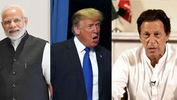 Narendra Modi, Donald Trump and Imran Khan