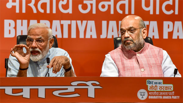 File photo of Narendra Modi and Amit Shah