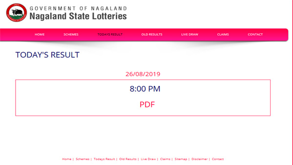 Nagaland State Lottery result: Dear Hawk Evening winning numbers
