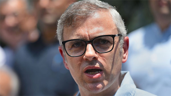 Jammu and Kashmir National Conference Vice President Omar Abdullah
