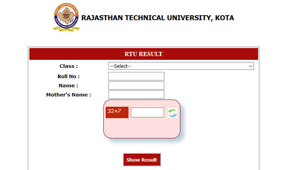 Direct link to check RTU result 2019