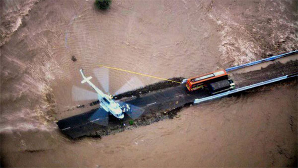 Guj flood: 2 IAF choppers rescue 13 people in Surat