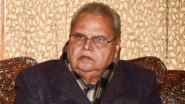 Satyapal Malik has not got over Kashmir as yet