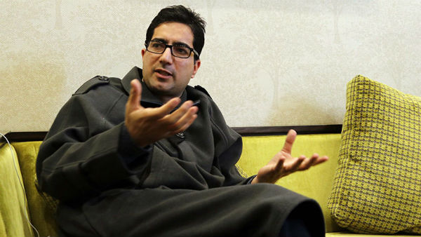 File photo of Shah Faesal