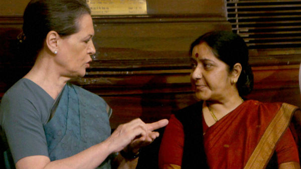 Feel her loss greatly: Sonia writes to Swarajs family