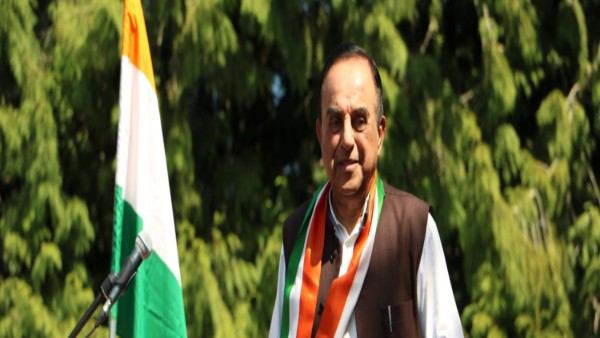 Bharatiya Janata Party (BJP) leader Subramanian Swamy