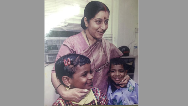 Her hug changed lives of 2 HIV positive Kerala kids
