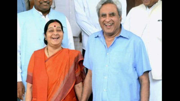 Even Milkha Singh stopped running, Sushma's husband had said