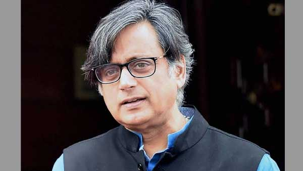Congress Lok Sabha MP Shashi Tharoor (Image Source Twitter)