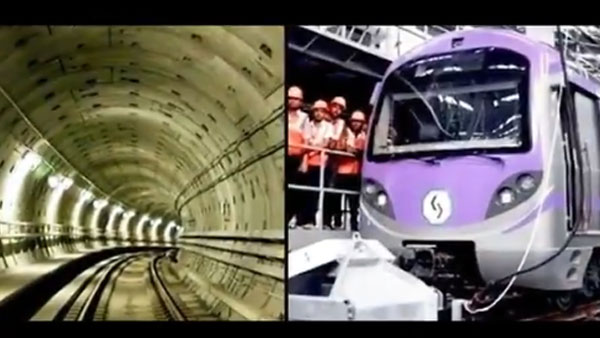 Watch: India's first underwater metro zipping through, service starts month-end in Kolkata