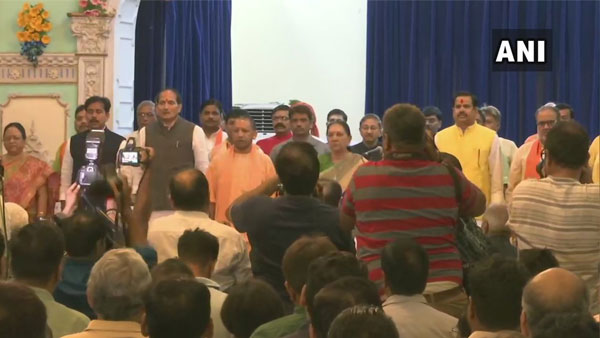 UP 23 MLA's takes oath in first Yogi's cabinet reshuffle