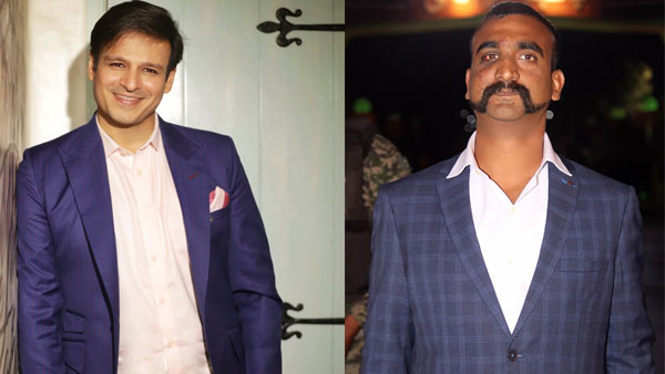 Vivek Oberoi and Wing Commander Abhinandan