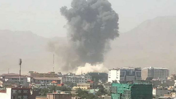 Taliban claim suicide car bombing in west Kabul, nearly 100 wounded