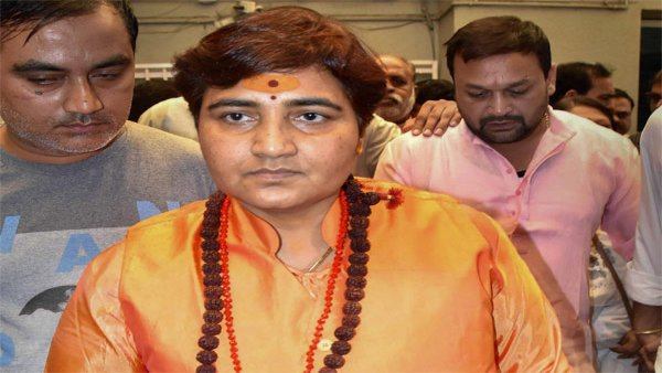 Opposition using 'marak shakti' to harm BJP leaders: Sadhvi Pragya