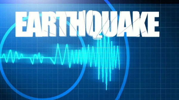 Mild earthquake jolts Myanmar-India Border region