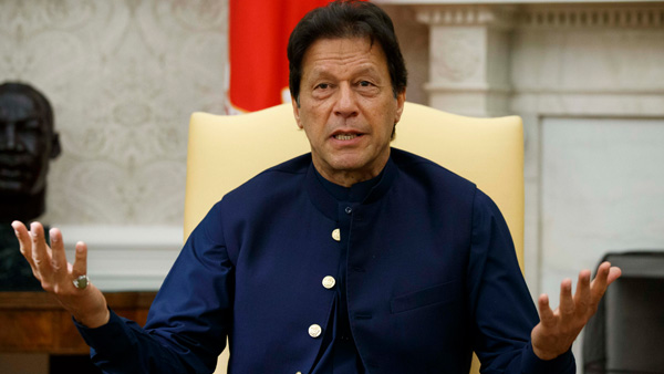 Imran Khan speech LIVE: Special logo for I-Day with a theme  of 'Kashmir Banega Pakistan' revealed