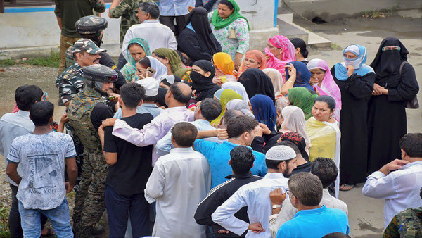 Situation normal in Jammu and Kashmir: Govt; Sec-144 relaxed for 6 hrs for Eid