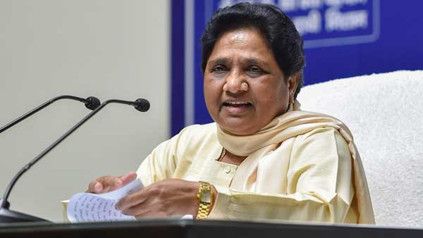 Buddhist followers of Babasaheb Ambedkar are happy with abrogation of Article 370: Mayawati