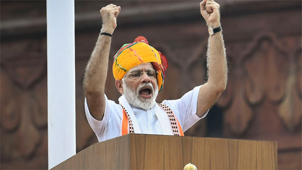 <strong>[Key take-aways from Narendra Modi's Independence Day speech]</strong>