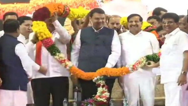 Maharashtra polls: Big blow to NCP as Ganesh Naik joins BJP