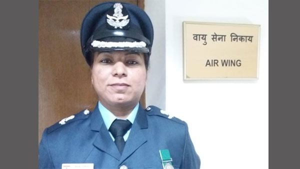 Wing Commander, Anjali Singh, pic courtesy, @IndEmbMoscow