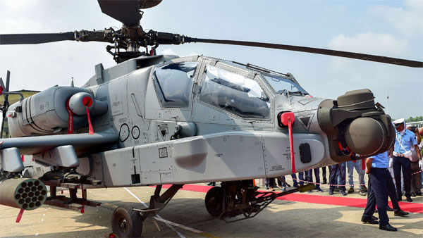 US-made Apache AH-64E helicopter