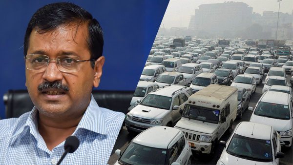 Odd-even car scheme back in Delhi post Diwali from November 4-15: Kejriwal