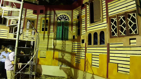 Behala 29 Palli getting ready for Durga puja